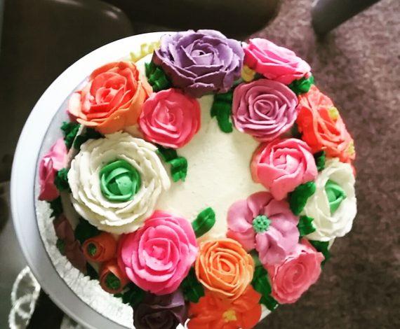 Walk In The Garden Cake