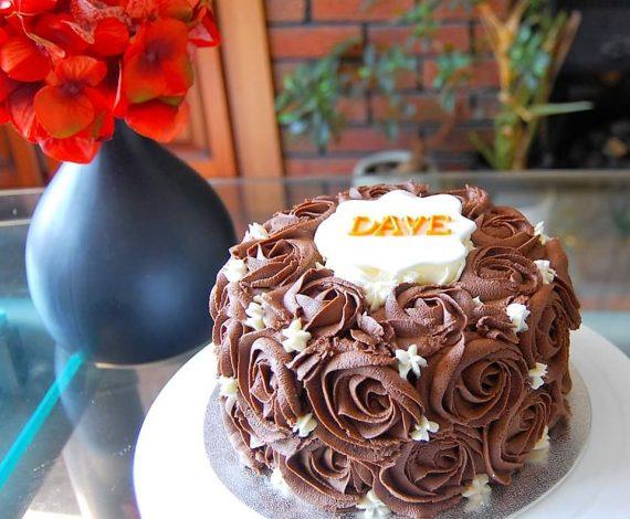 Chocolate Mud Cake with Mocha