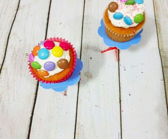 Vanilla Cupcake With Madagascan Vanilla Buttercream