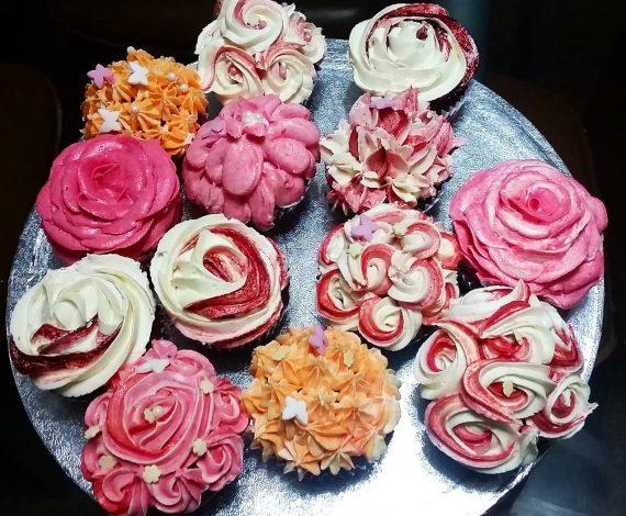 Red Velvet Floral