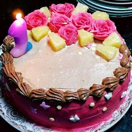 Vanilla Smash Cake