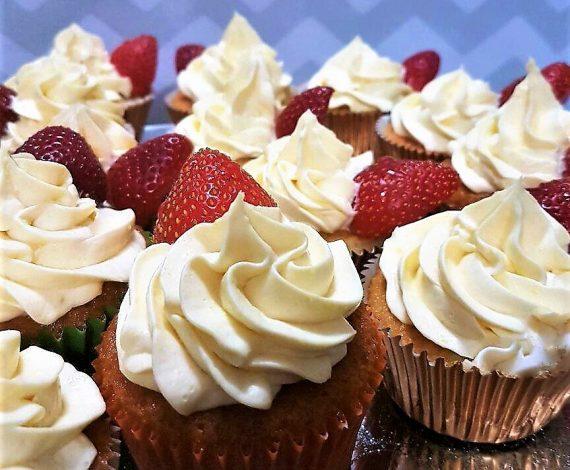 Fresh Cream Cupcake