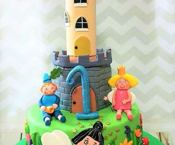 Ben & Holly Little Kingdom Themed Cake