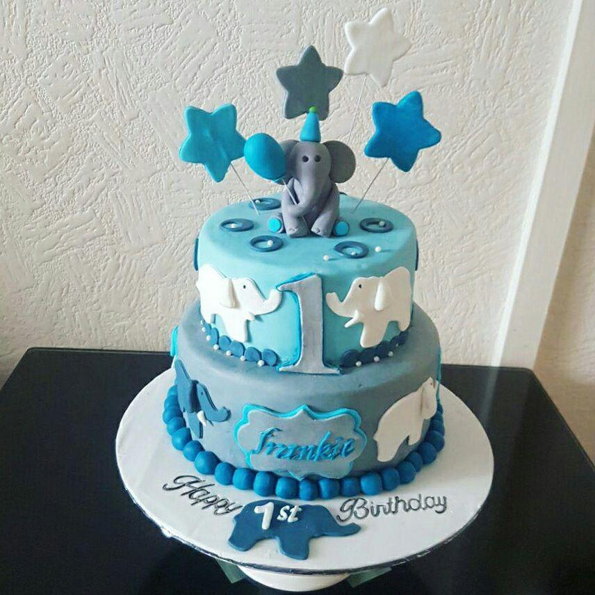 Baby Boy Birthday Cakes By Mehwish