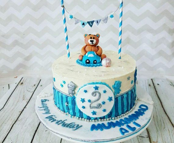 Baby Boy Teddy Theme