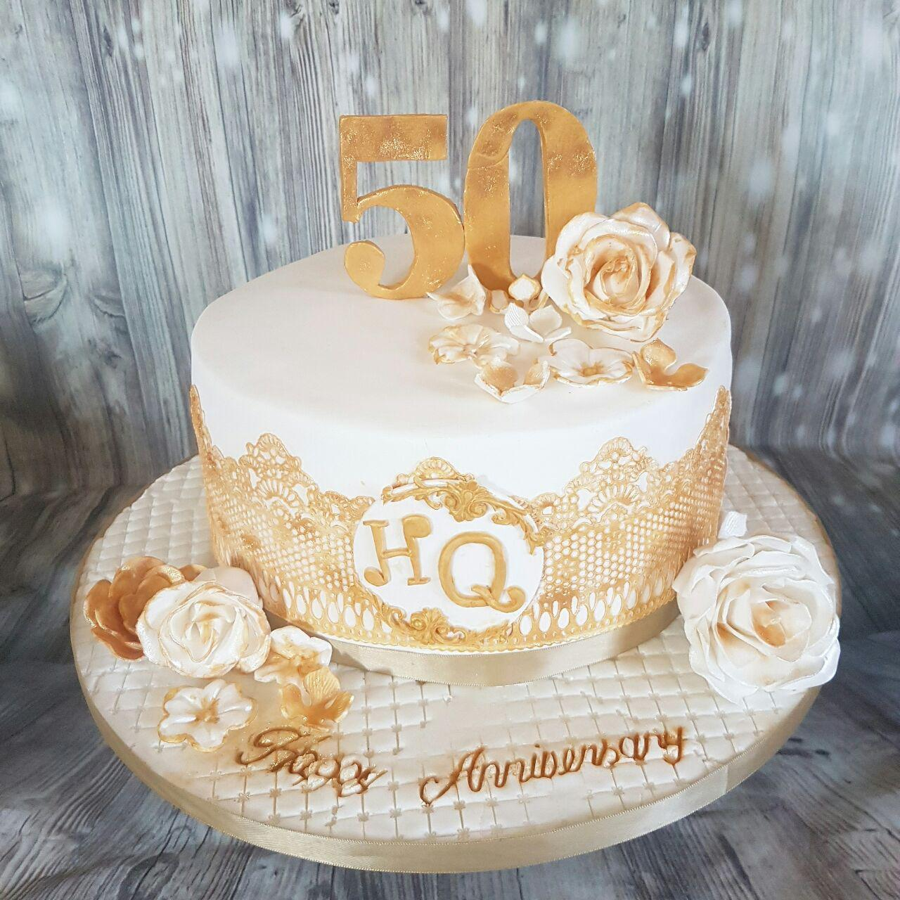 cakes for 50th wedding anniversary 50th wedding anniversary cakes cake recipe 2368