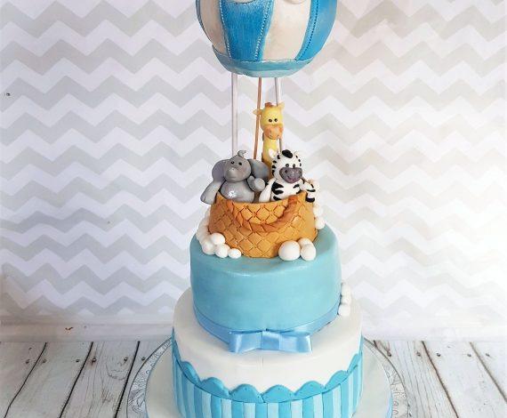 Christening Cake-Boy