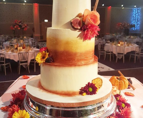 Autumn Wedding Cake