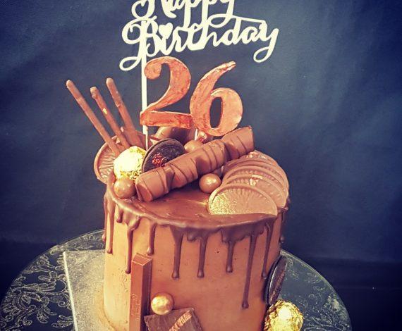 Chocolate Overload Cake- Copper