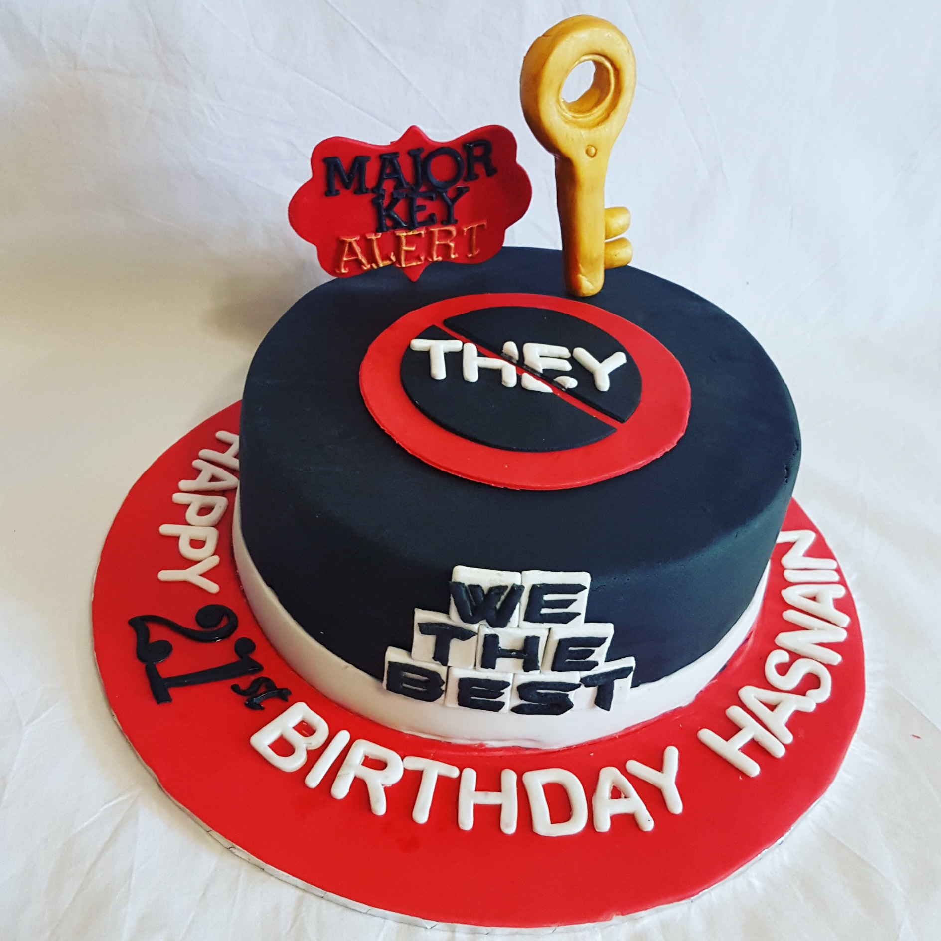 Groovy Dj Khaled Themed Cake Cakes By Mehwish Personalised Birthday Cards Cominlily Jamesorg