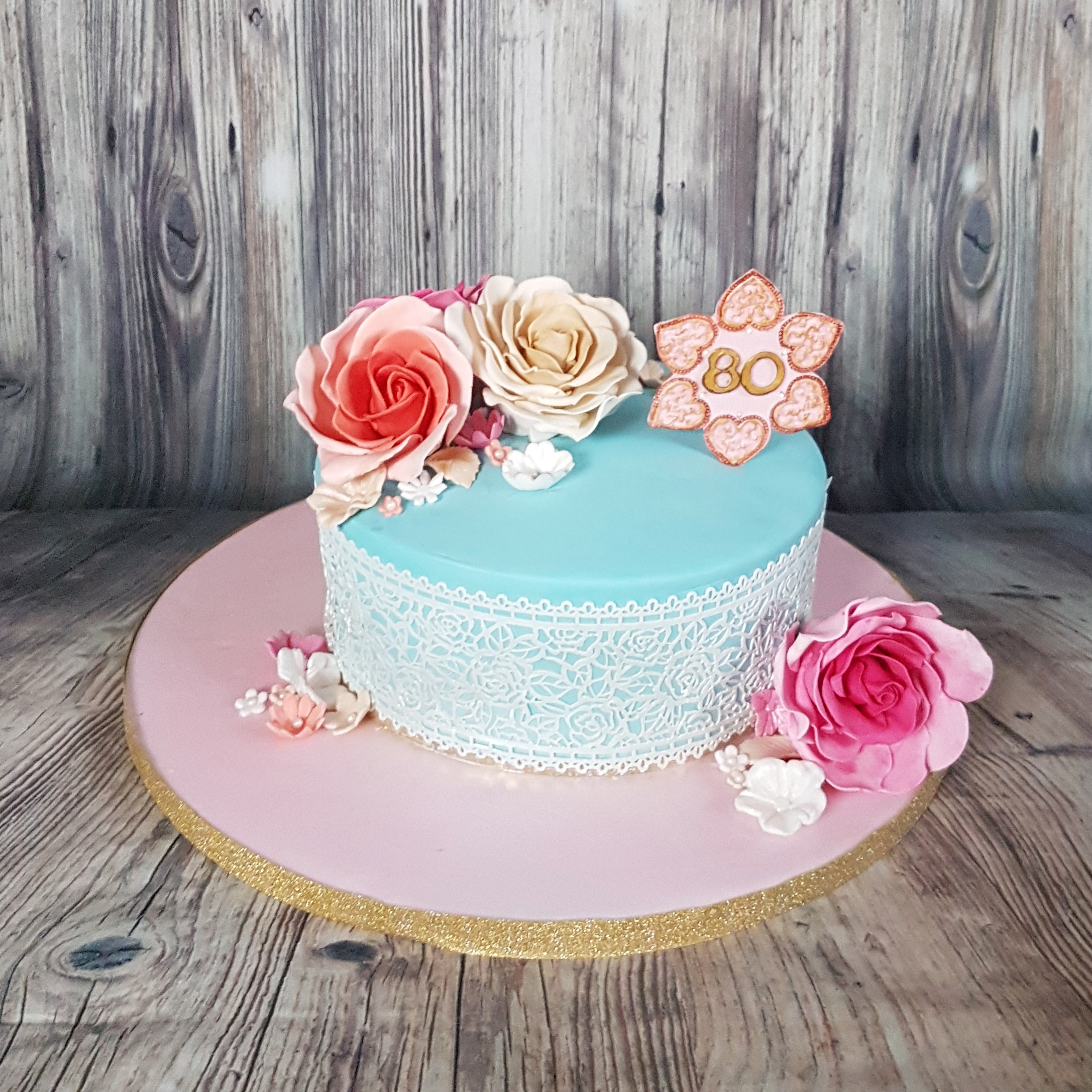80th Birthday Cake Cakes By Mehwish